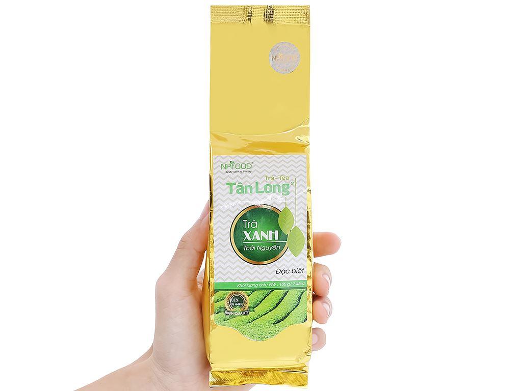 Trà xanh Thái Nguyên đặc biệt Tân Long 100g 1
