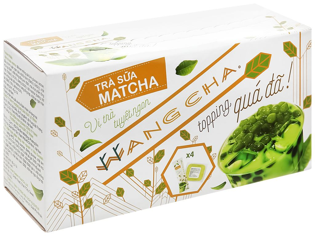 Trà sữa matcha Wangcha hộp 400g 1