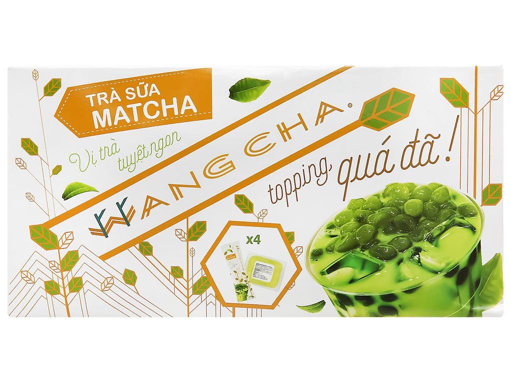 Trà sữa matcha Wangcha hộp 400g 2