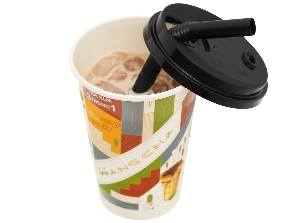 Trà sữa 3 in 1 Wangcha ly 100g 13