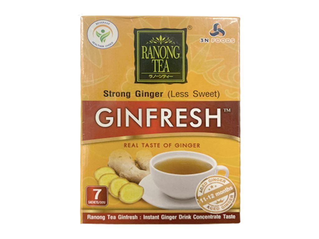 Bột trà gừng đậm đà Ranong Tea hộp 105g 2