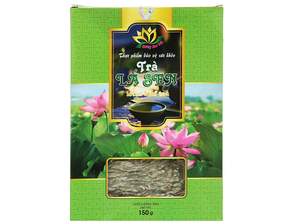 Trà lá sen Hương Sen Việt hộp 150g 3