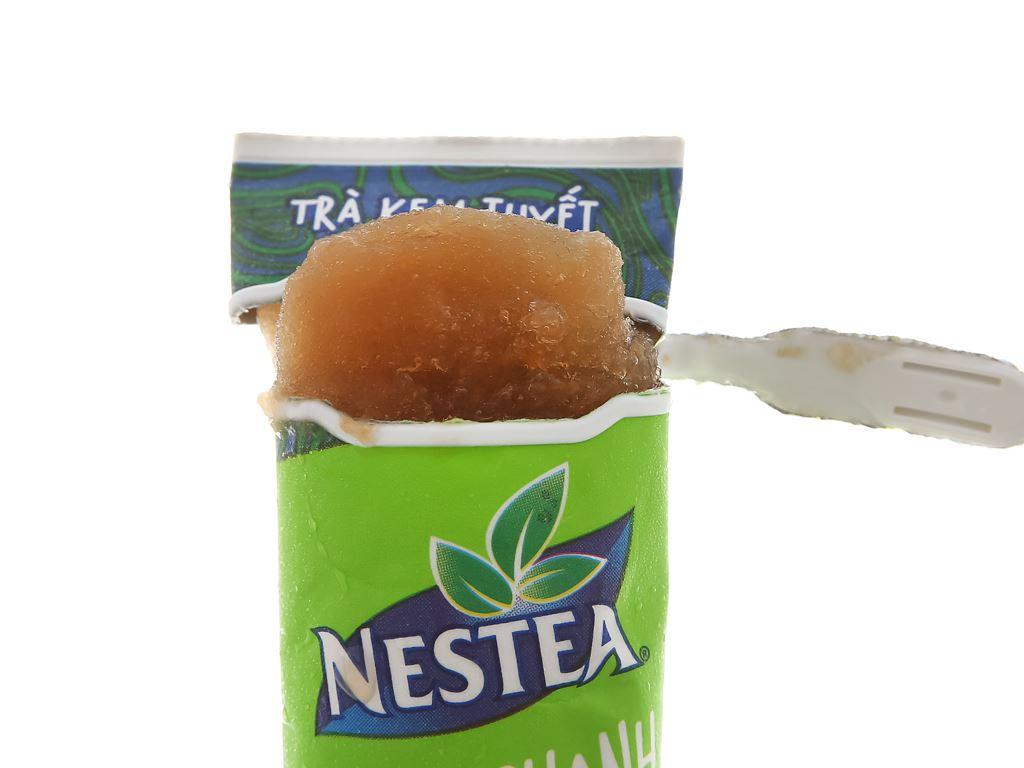 Trà kem tuyết Nestea vị trà chanh thanh 100ml 8