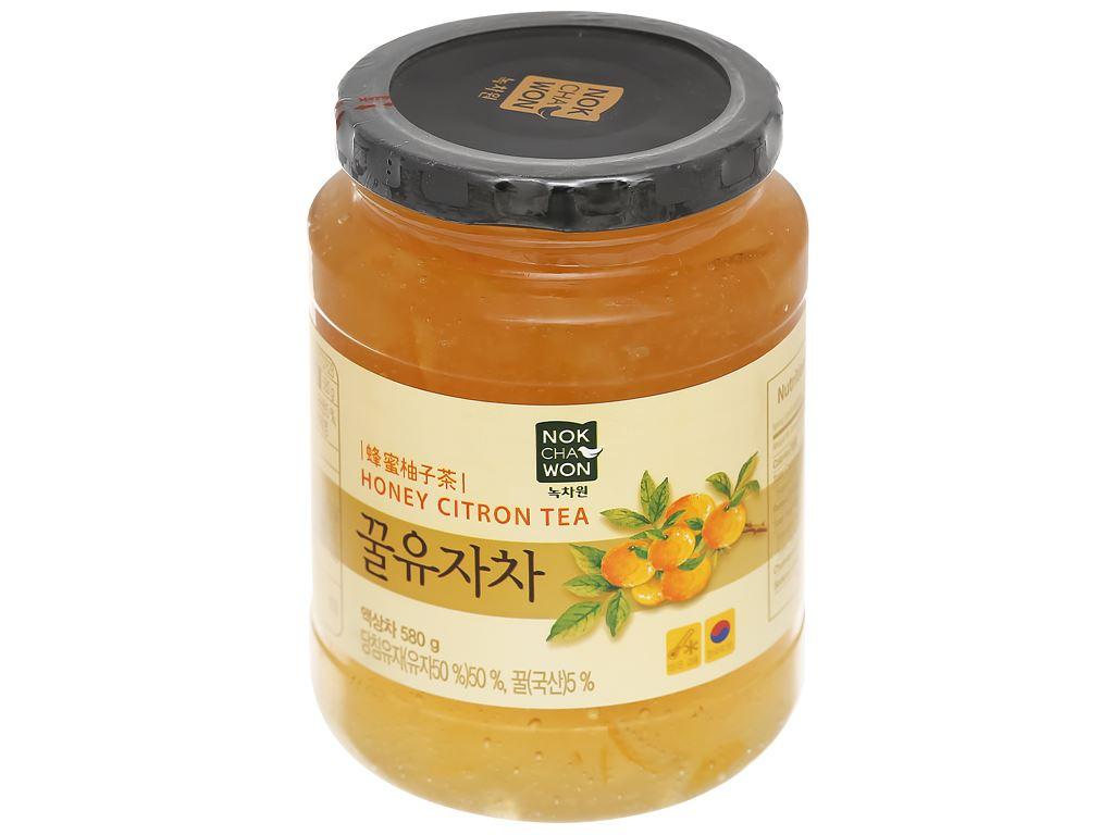 Trà thanh yên mật ong Nokchawon hũ 580g 1