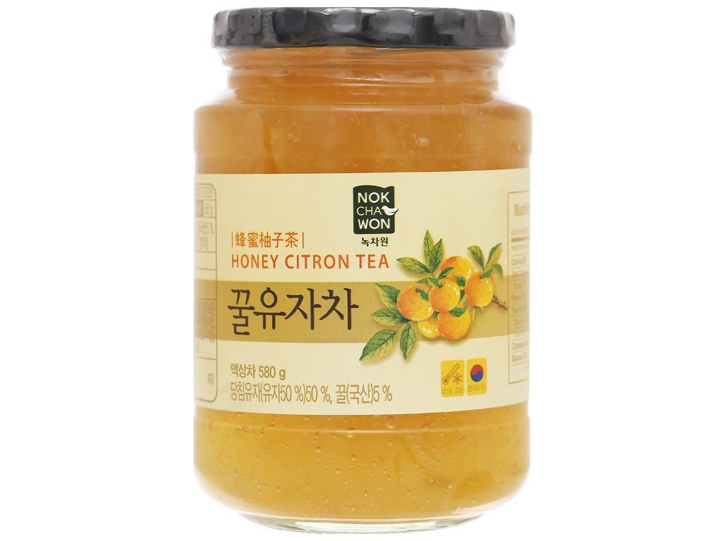 Trà thanh yên mật ong Nokchawon hũ 580g 2