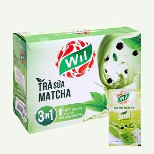 Trà sữa Wil vị matcha hộp 170g