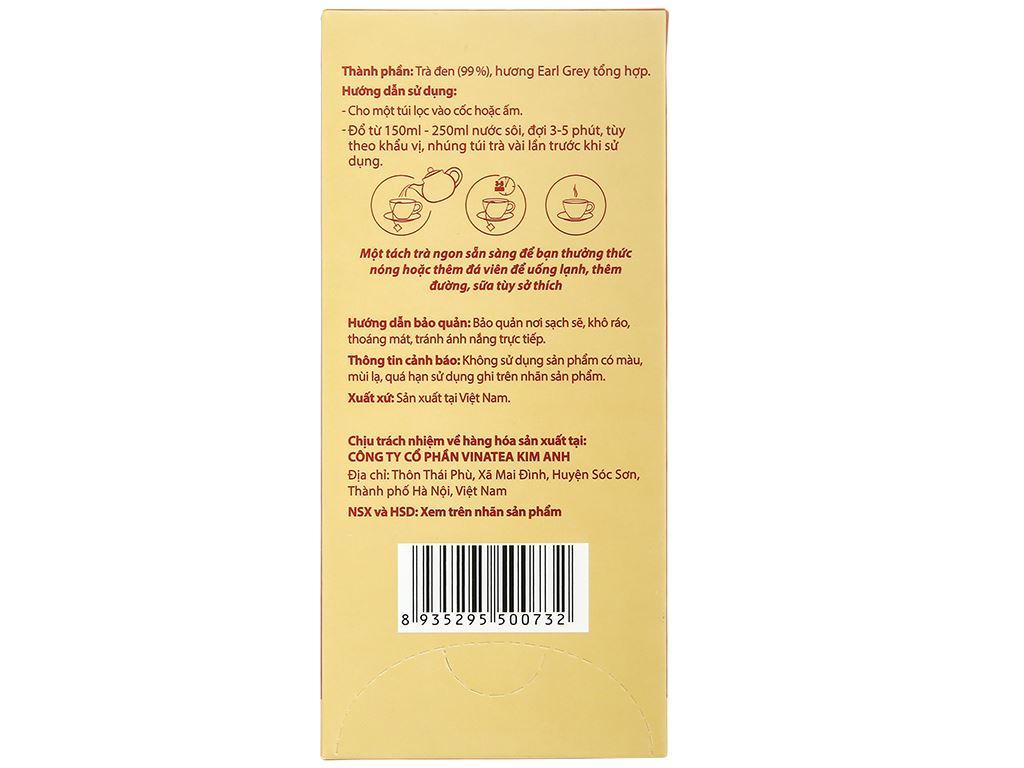 Hồng trà túi lọc Lama hộp 50g 5