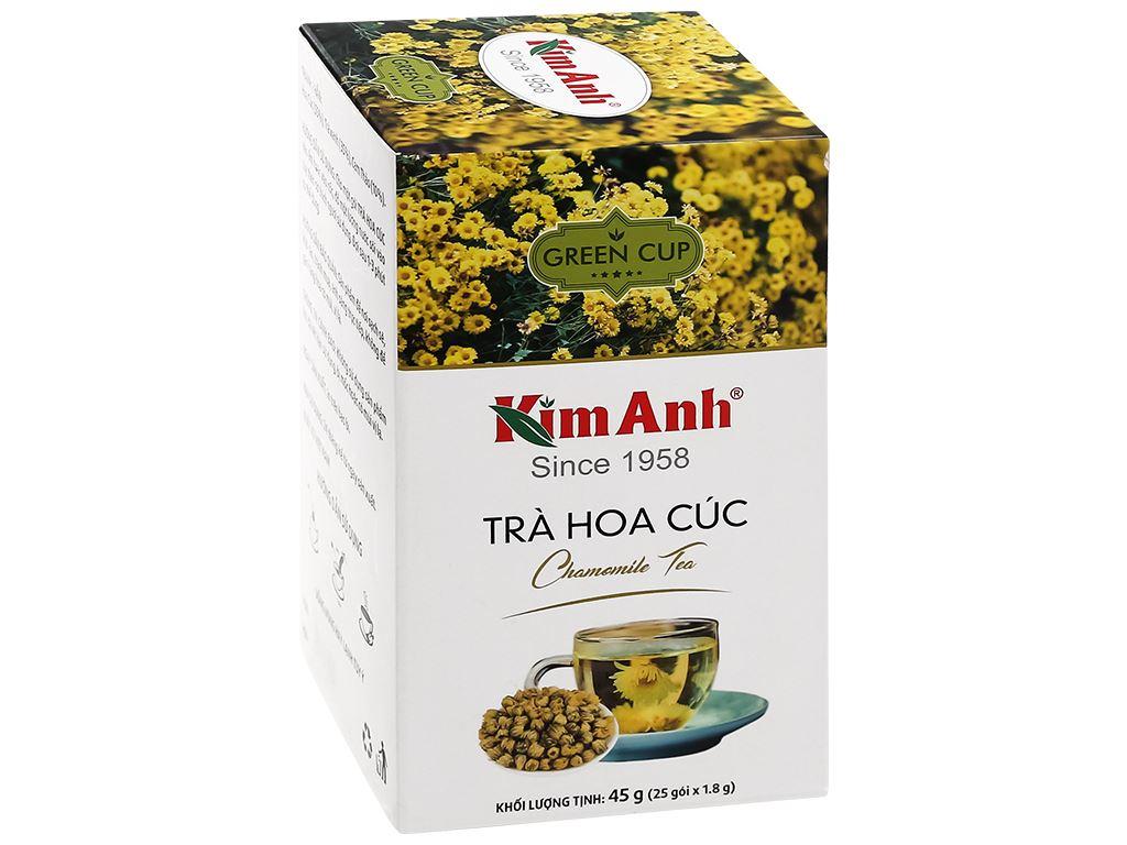 Trà túi lọc Kim Anh hoa cúc hộp 45g 1