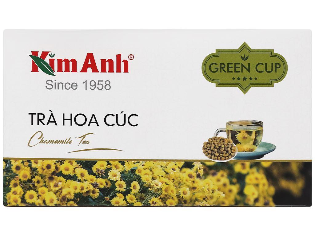 Trà túi lọc Kim Anh hoa cúc hộp 45g 4