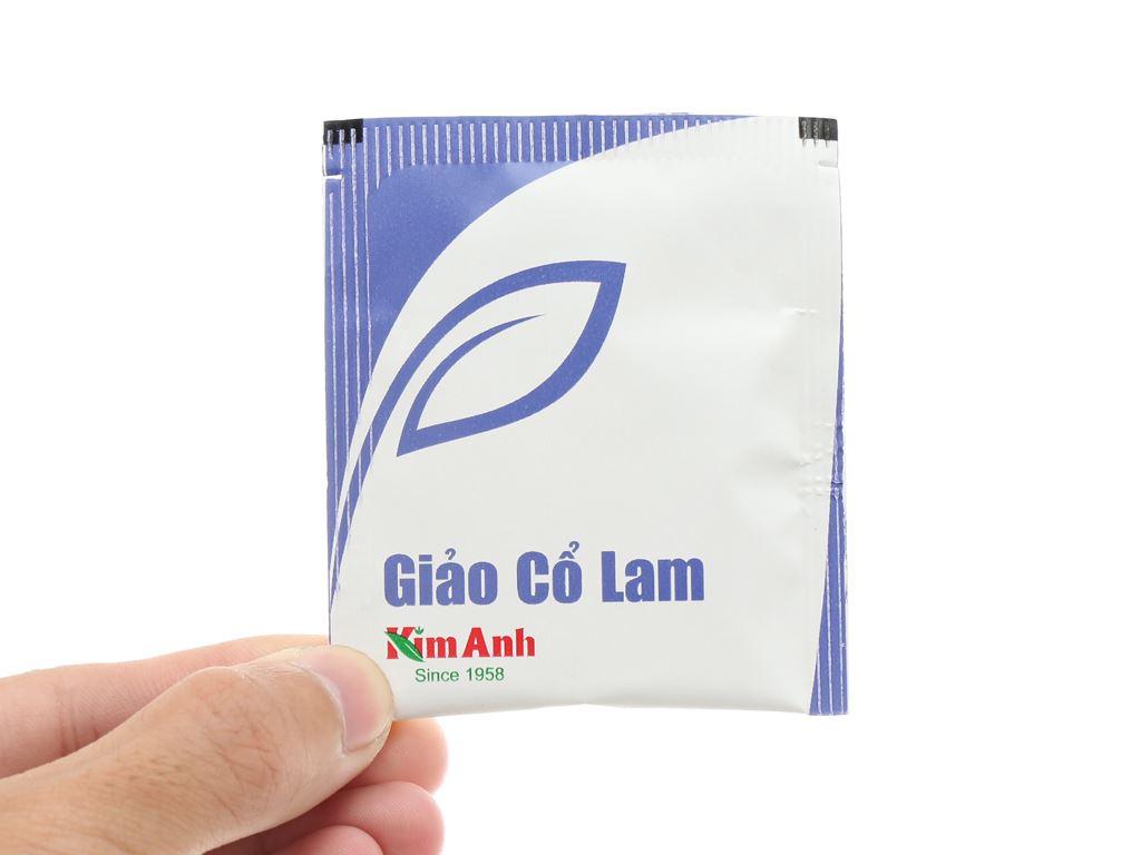 Trà túi lọc Kim Anh giảo cổ lam hộp 50g 7