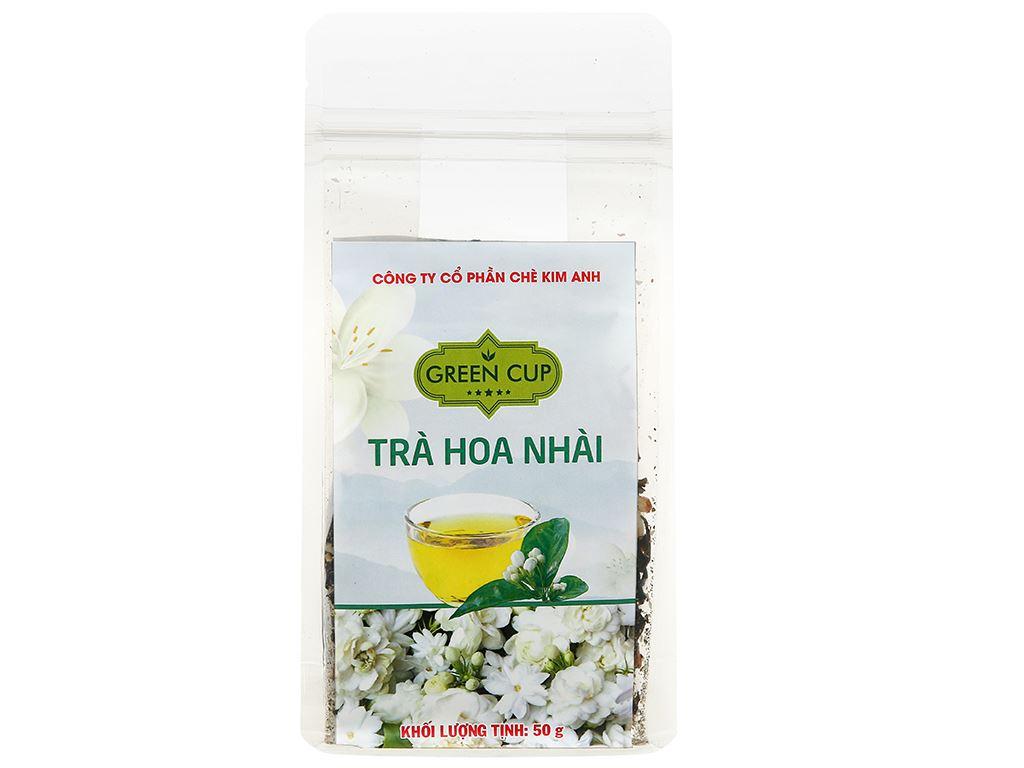 Trà hoa nhài Kim Anh Green Cup gói 50g 2
