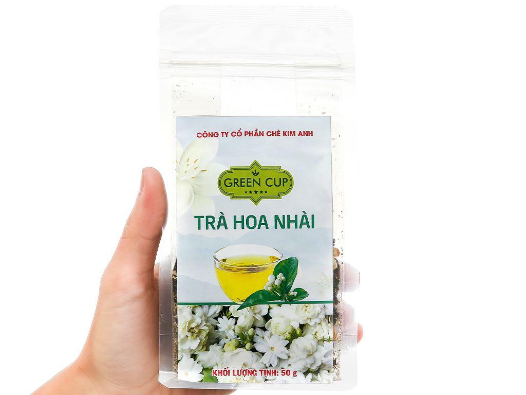Trà hoa nhài Kim Anh Green Cup gói 50g 3