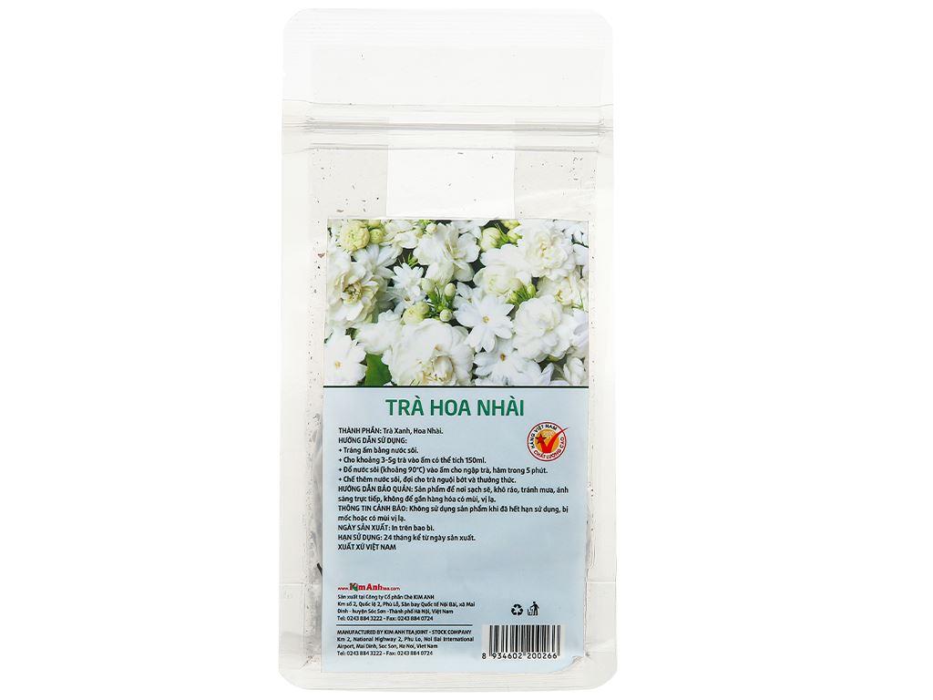 Trà hoa nhài Kim Anh Green Cup gói 50g 4