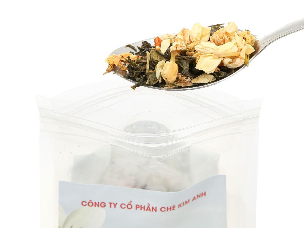 Trà hoa nhài Kim Anh Green Cup gói 50g 6