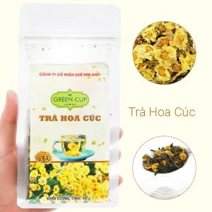 Trà hoa cúc Kim Anh Green Cup gói 50g