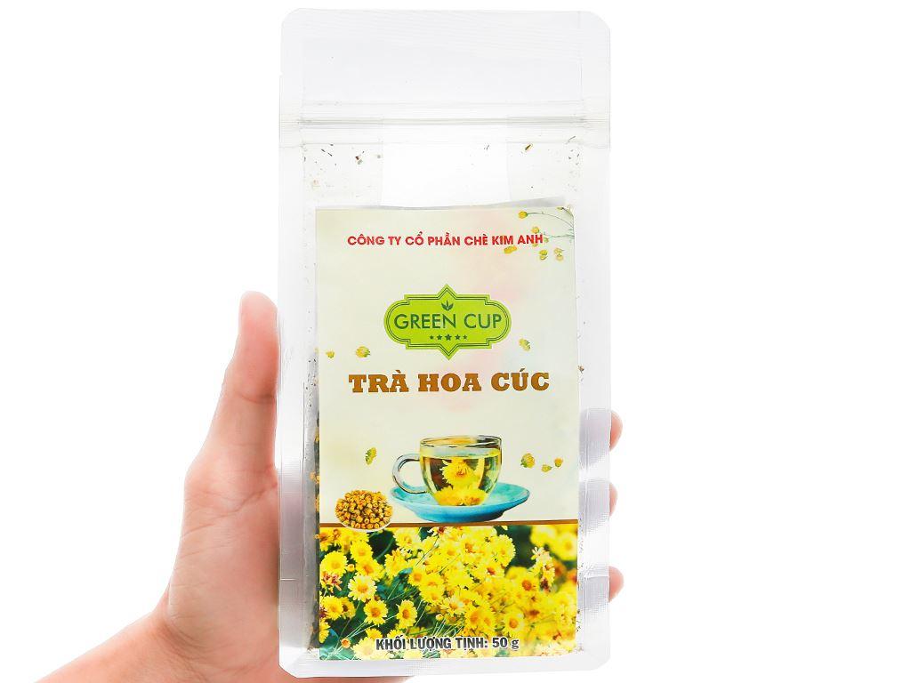 Trà hoa cúc Kim Anh Green Cup gói 50g 2