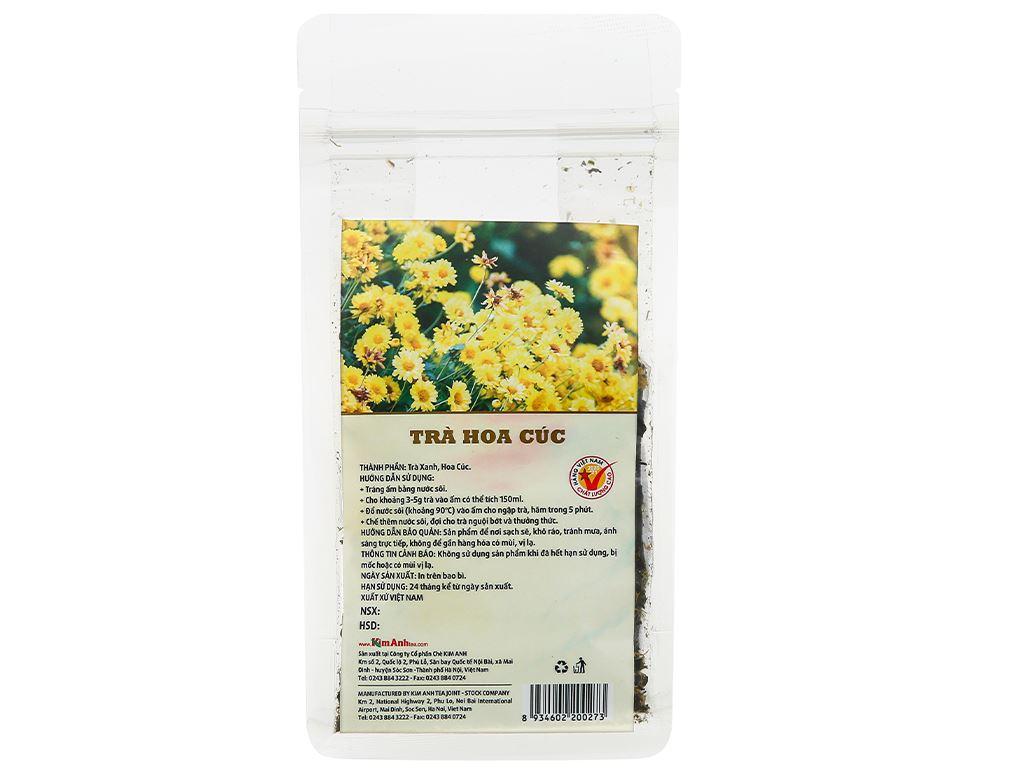 Trà hoa cúc Kim Anh Green Cup gói 50g 4