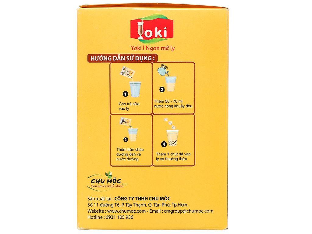 Trà sữa trân châu đường đen Yoki hộp 400g 4