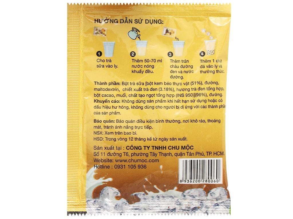 Trà sữa trân châu đường đen Yoki hộp 400g 8