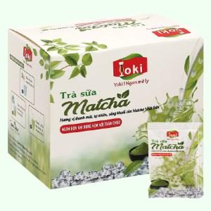 Trà sữa matcha Yoki hộp 200g