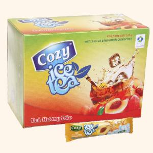 Trà Cozy Ice Tea hương đào hộp 270g