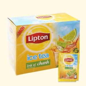 Trà Lipton Ice Tea vị chanh hộp 224g