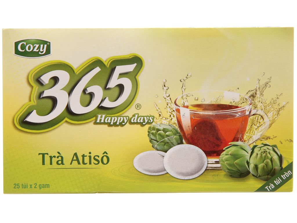 Trà Atisô Cozy 365 Happy Days 50g 2