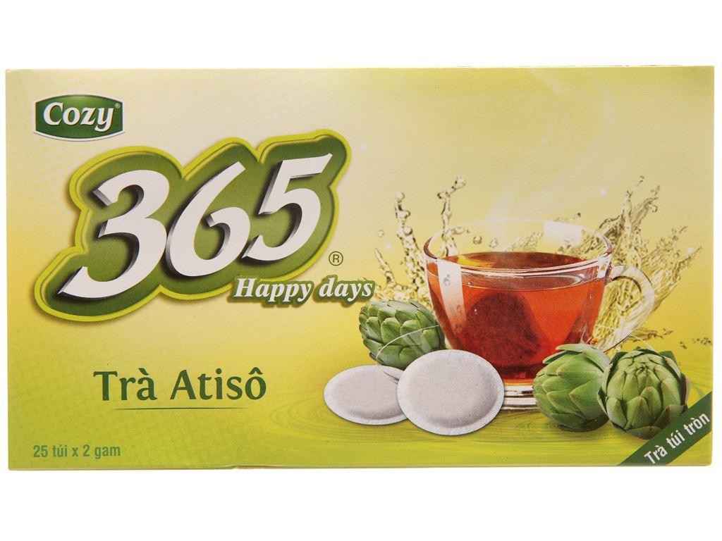 Trà Atisô Cozy 365 Daily Tea hộp 50g (2g x 25 túi) 2