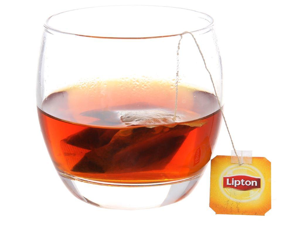 Trà đen Lipton nhãn vàng hộp 50g (2g x 25 túi) 3