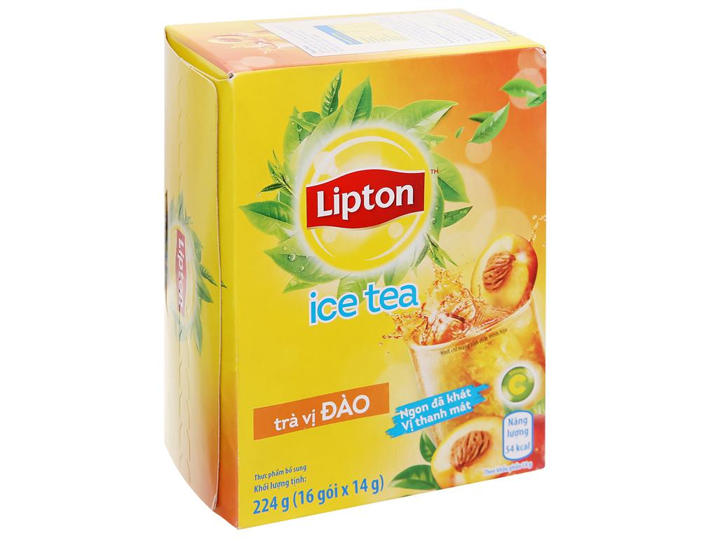 Trà Lipton Ice Tea vị đào 224g 5