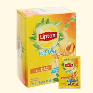 Trà Lipton Ice Tea vị đào hộp 224g