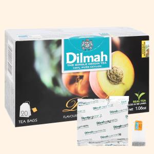Trà Ceylon Dilmah hương đào hộp 30g