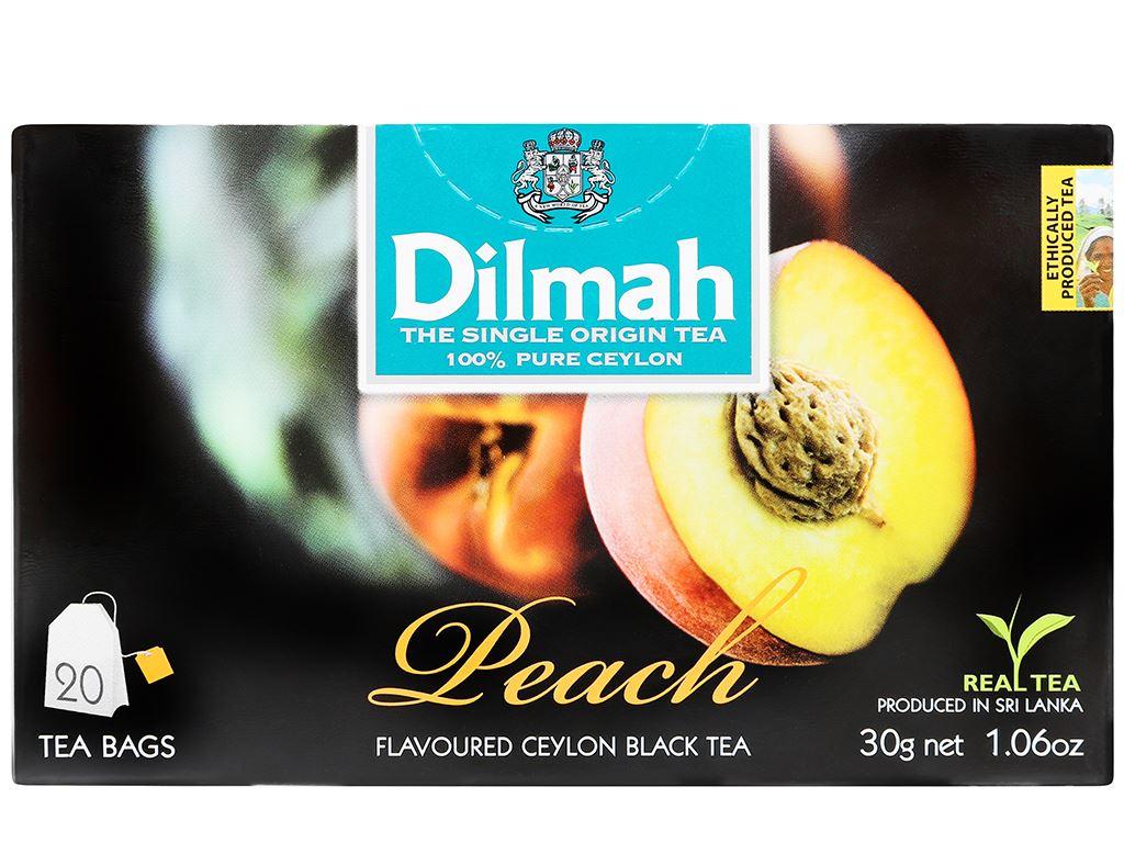 Trà Ceylon Dilmah hương đào 30g 2
