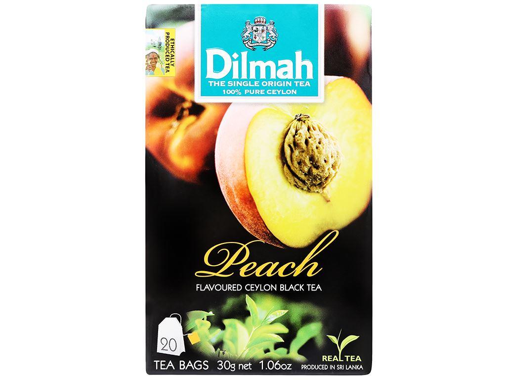 Trà Ceylon Dilmah hương đào 30g 3
