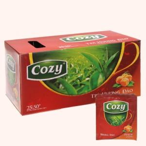 Trà Cozy hương đào hộp 50g