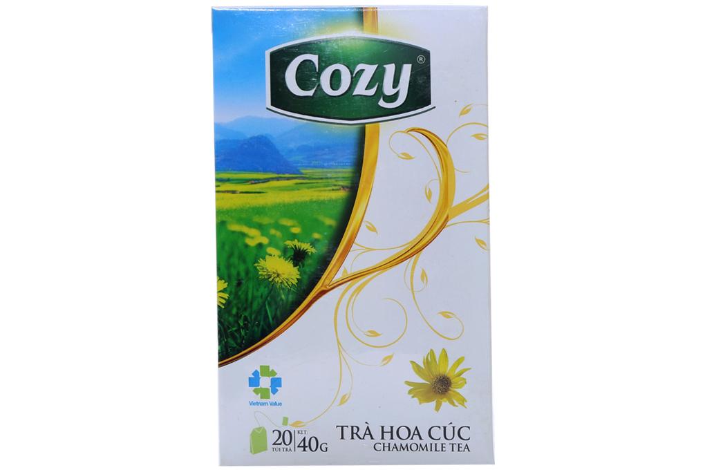 Trà hoa cúc Cozy túi lọc 2g (hộp 20 gói)