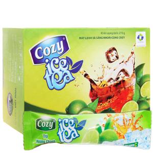 Trà Cozy Ice Tea hương chanh 270g
