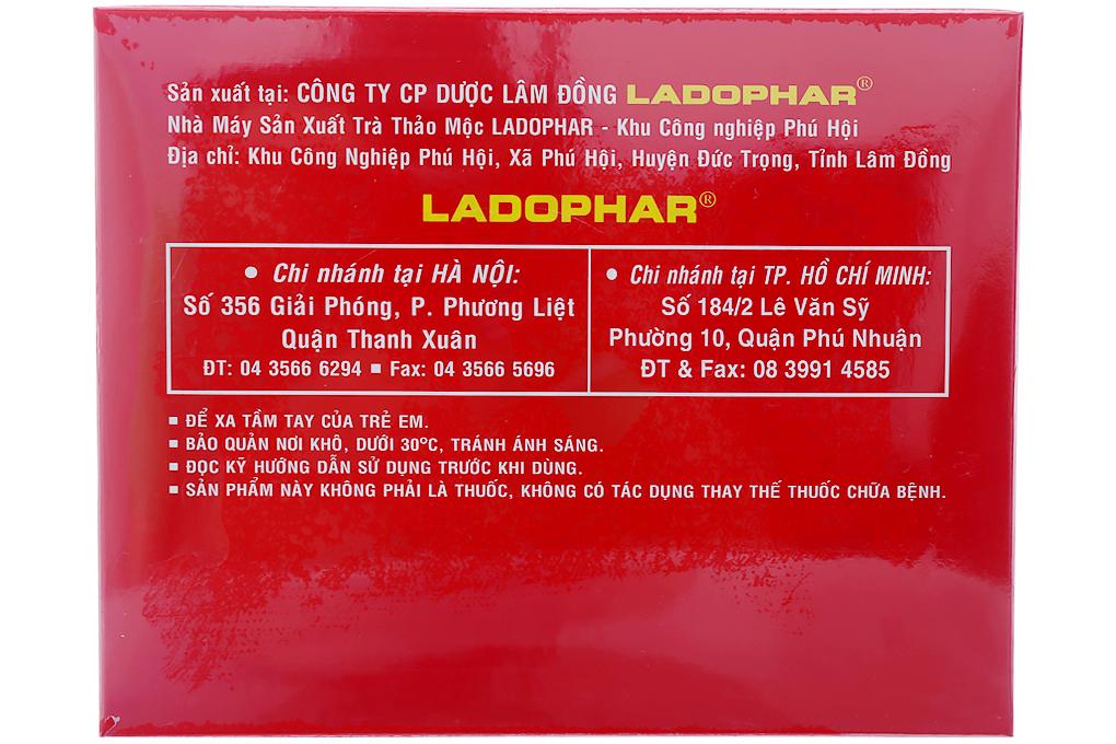 Trà Ac-ti-sô Đà Lạt Ladophar túi lọc 2g (hộp 100 túi)