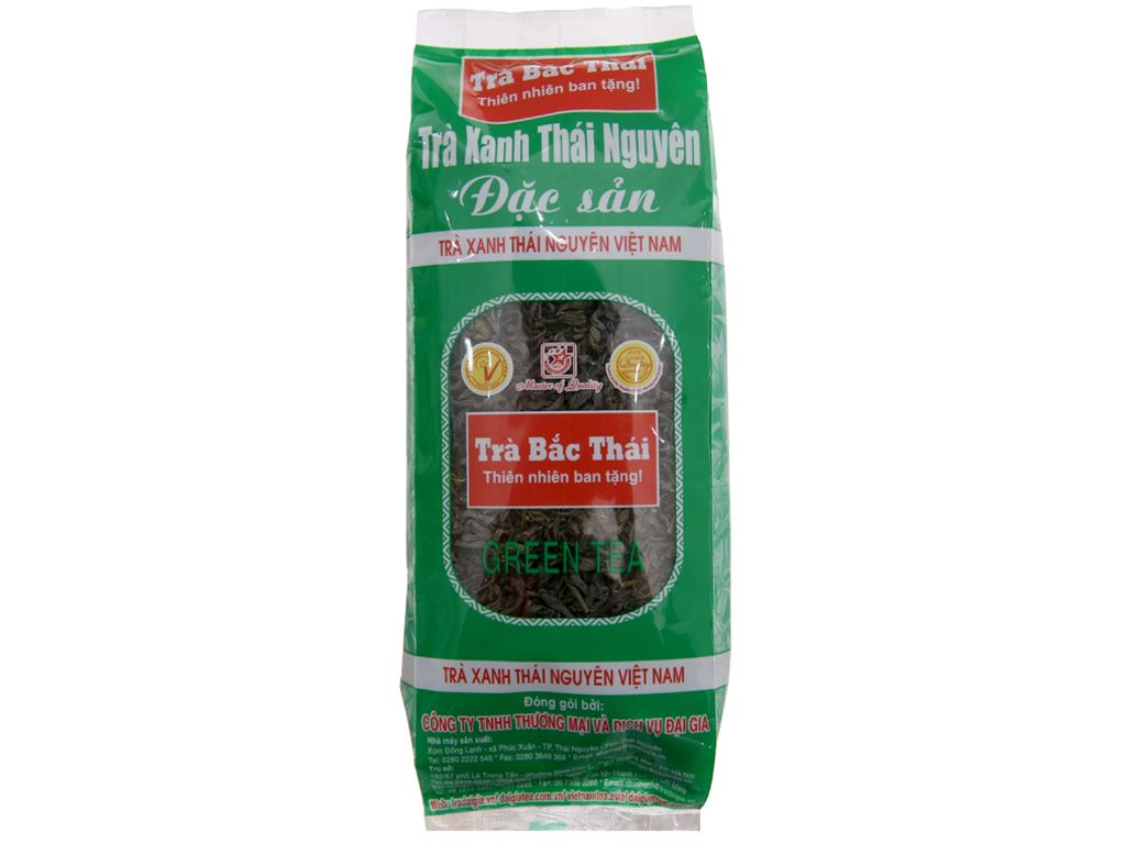 Trà xanh Thái Nguyên Đại Gia đặc sản 100g 2