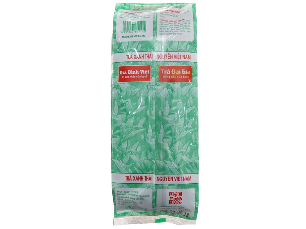 Trà xanh Thái Nguyên Đại Gia đặc sản 100g 3