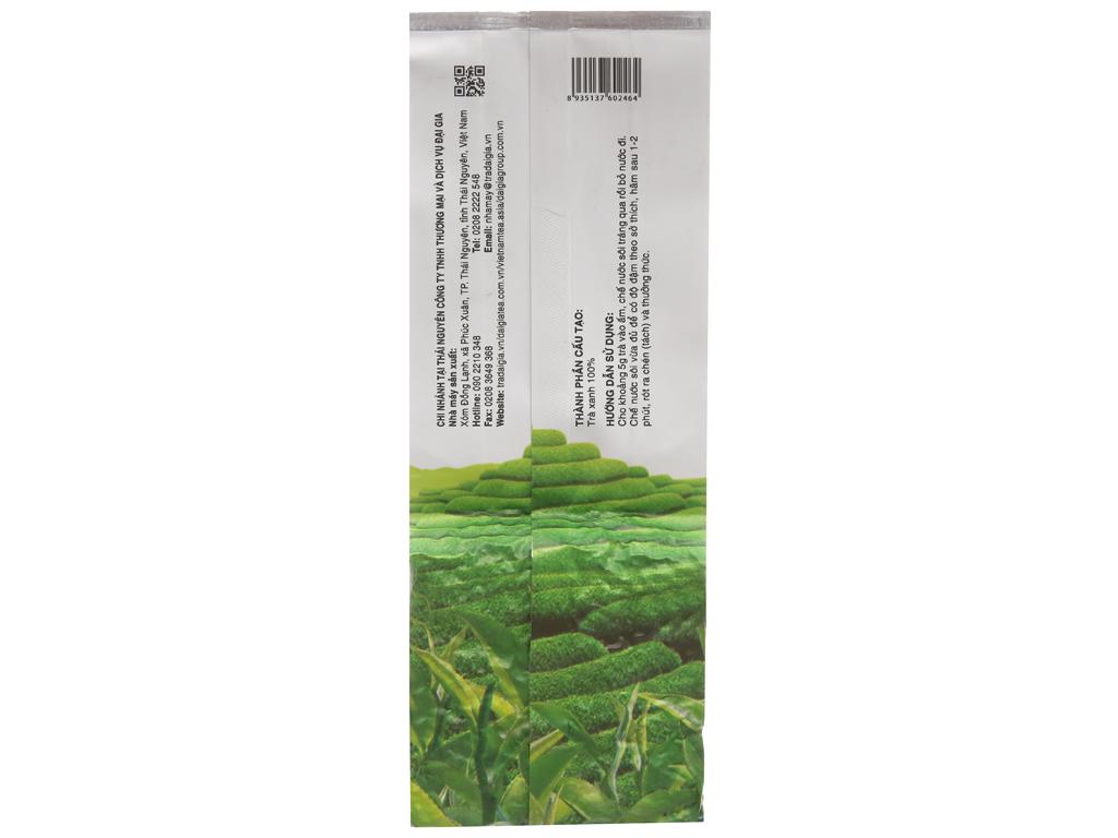 Trà xanh Thái Nguyên Đại Gia thượng hạng gói 100g 3
