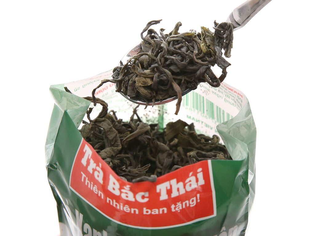 Trà xanh Thái Nguyên Bắc Thái 100g 4