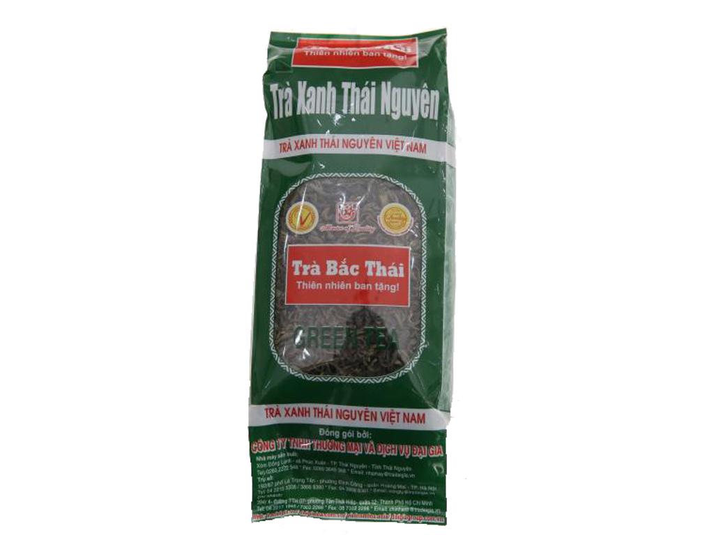 Trà xanh Thái Nguyên Bắc Thái 100g 1