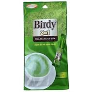 Trà matcha sữa 3 in 1 Birdy gói 17g (bịch 4 gói)