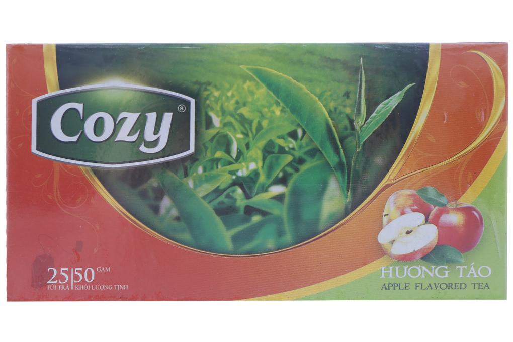 Trà Cozy hương Táo túi lọc 2g (hộp 25 gói)