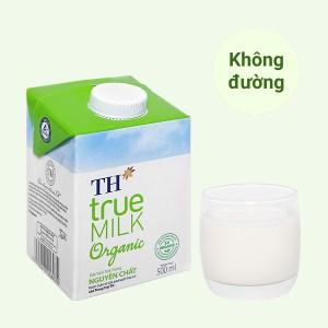 Sữa tươi tiệt trùng nguyên chất TH true MILK Organic hộp 500ml