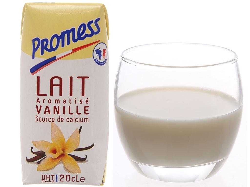 Lốc 6 hộp sữa tươi tiệt trùng hương vani Promess 200ml 3
