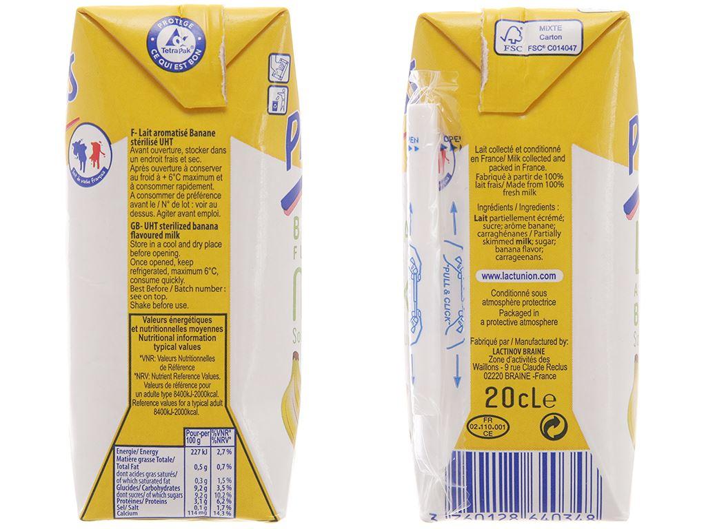 Lốc 6 hộp sữa tươi tiệt trùng Promess hương chuối 200ml 3