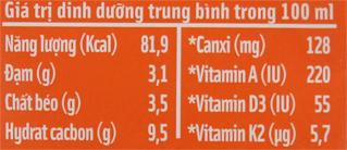 Sữa dinh dưỡng LiF Kun Cao lớn có đường hộp 180ml 6