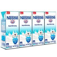Sữa tiệt trùng Nestle Có đường hộp 180ml (4 hộp)